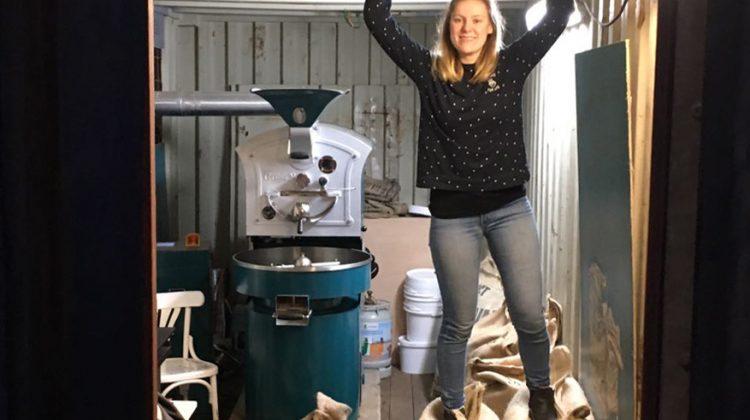 De kunst van koffie branden