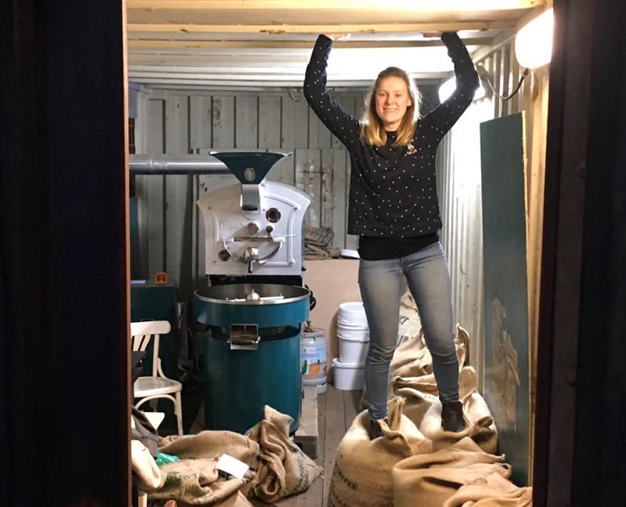 Melanie Chardet De kunst van koffie branden