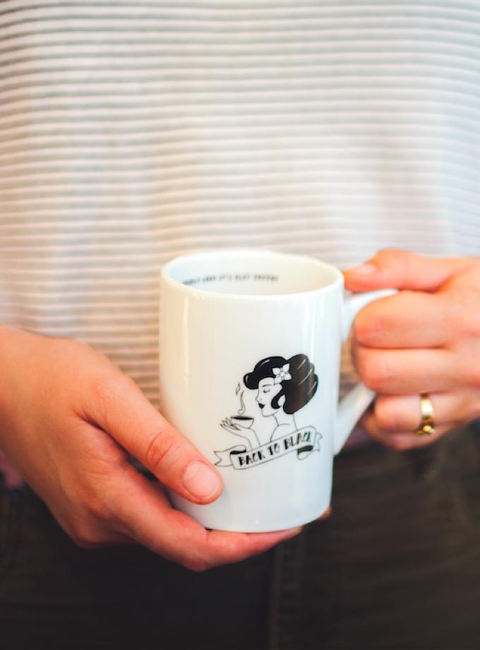 Back to Black Mug - Back to Black Coffee Roasters