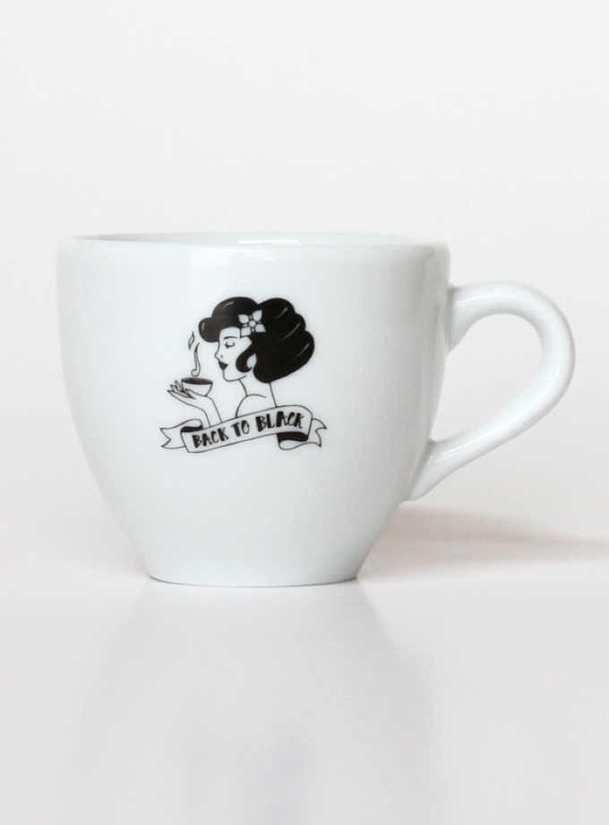Espresso Cup - Back to Black Coffee Roasters