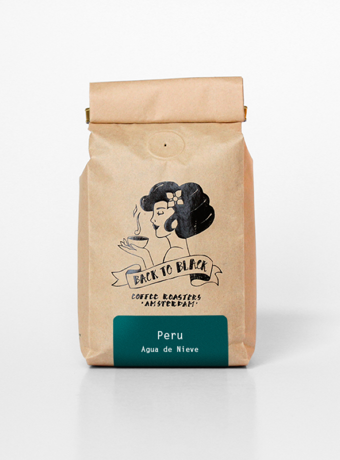 Peru agua de nieve - Back to Black Coffee Roasters