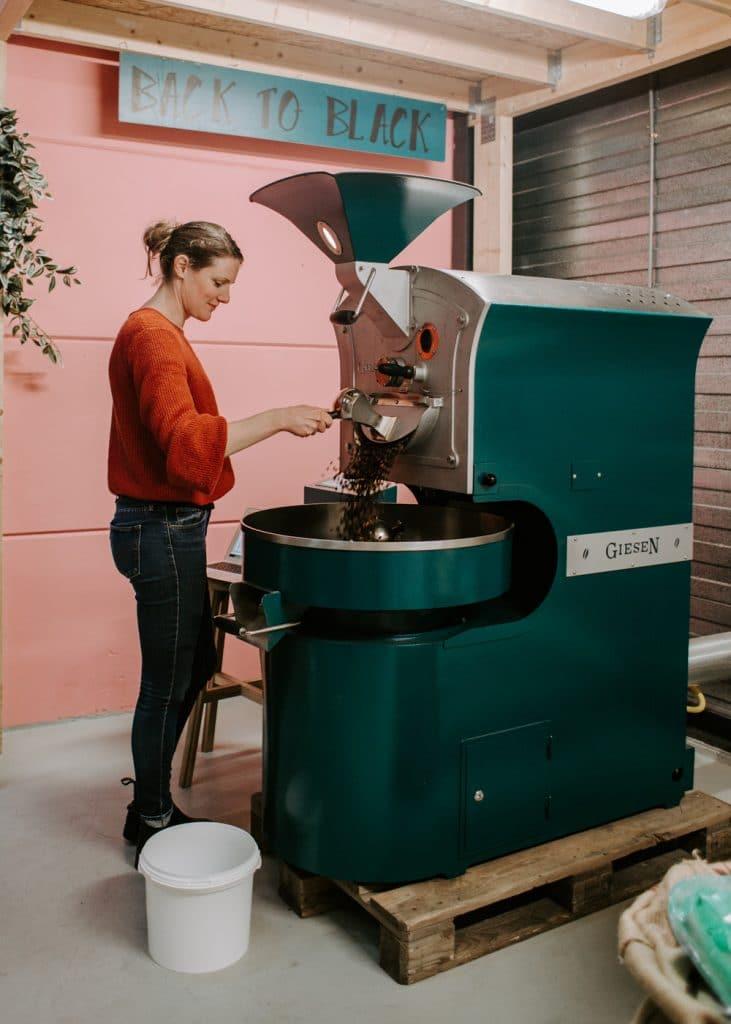 Back to Black koffiebranderij roastery